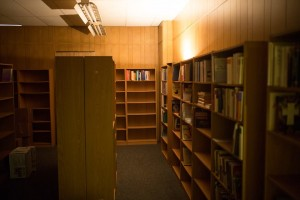 Theology room of BookMarx Bookstore