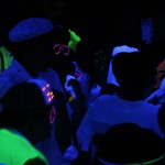 AMDG blacklight dance