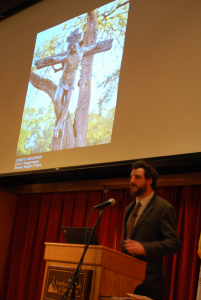 Carl Fougerousse, artist and Franciscan alum