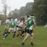Franciscan alumni against Baron rugby team