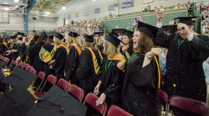 Photo FUS provided. Franciscan University Commencement 2015