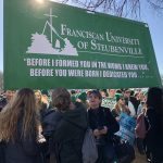 Nearly 500 Franciscan students and faculty attended the 45th March for Life