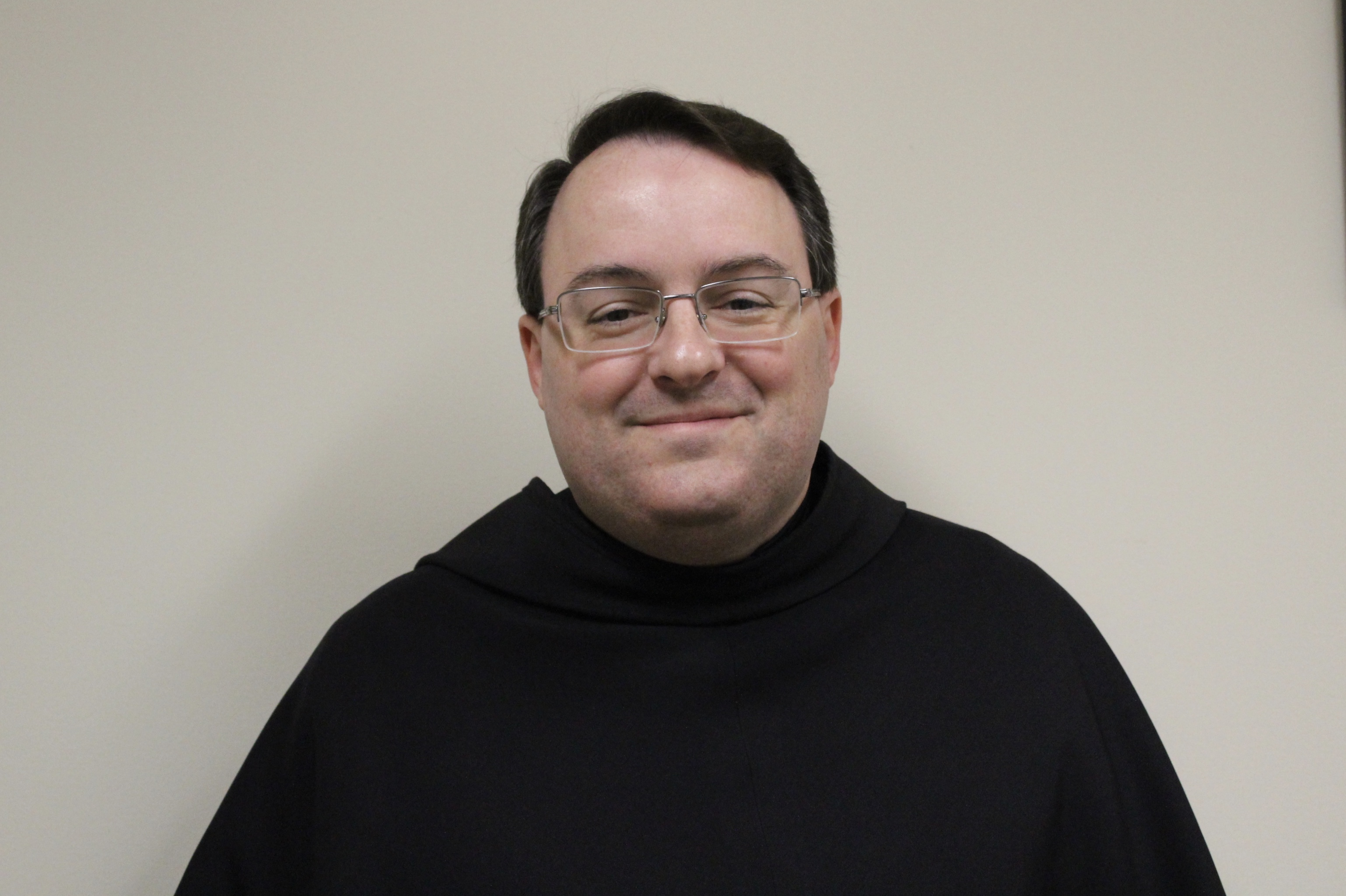 Returning with a new passion: Father Dominic Foster, TOR