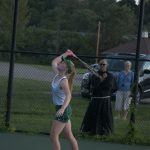Women's tennis v Titans