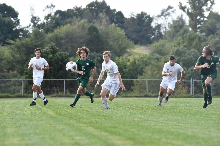 Men's soccer v Bethany
