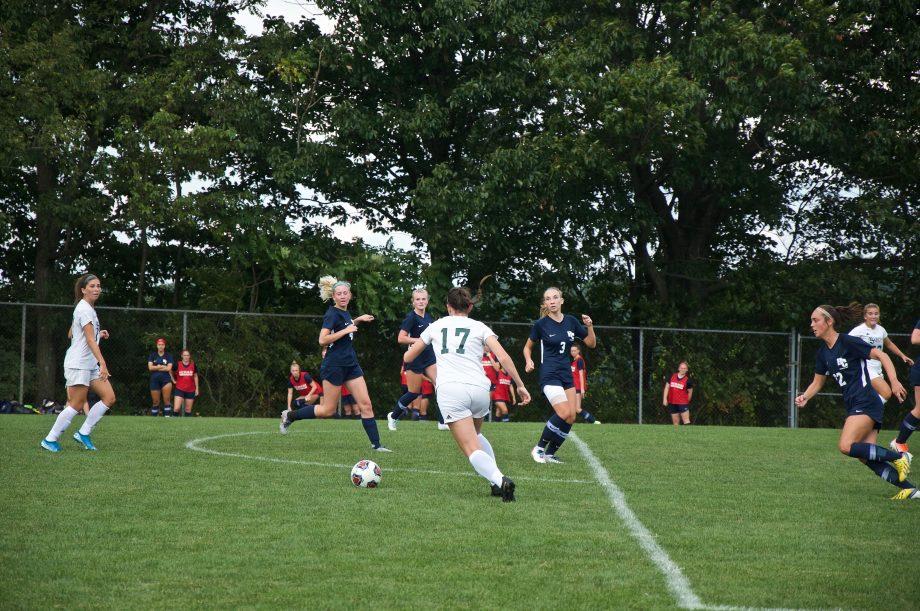 Women's soccer v Hiram